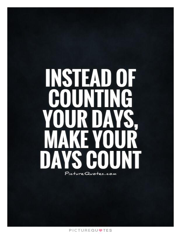 7 Steps to make your each Day count at work!