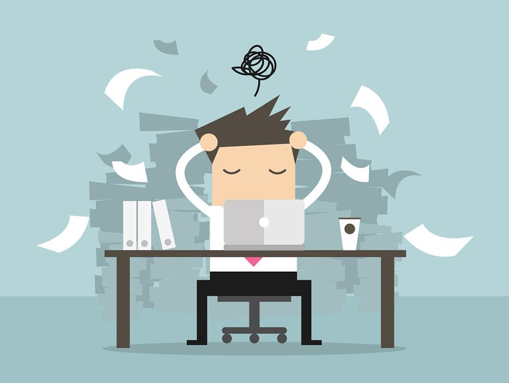 3 simple things to do when you feel Overwhelmed at work