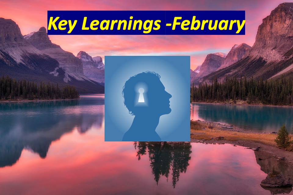 Κey Learnings: February 2018