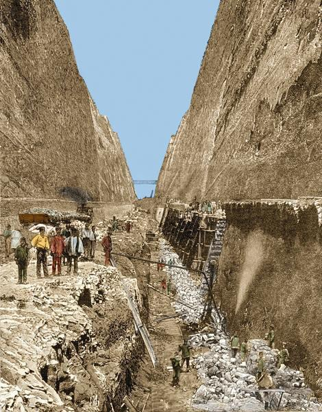 What can the Corinth Canal teach you about Purpose?