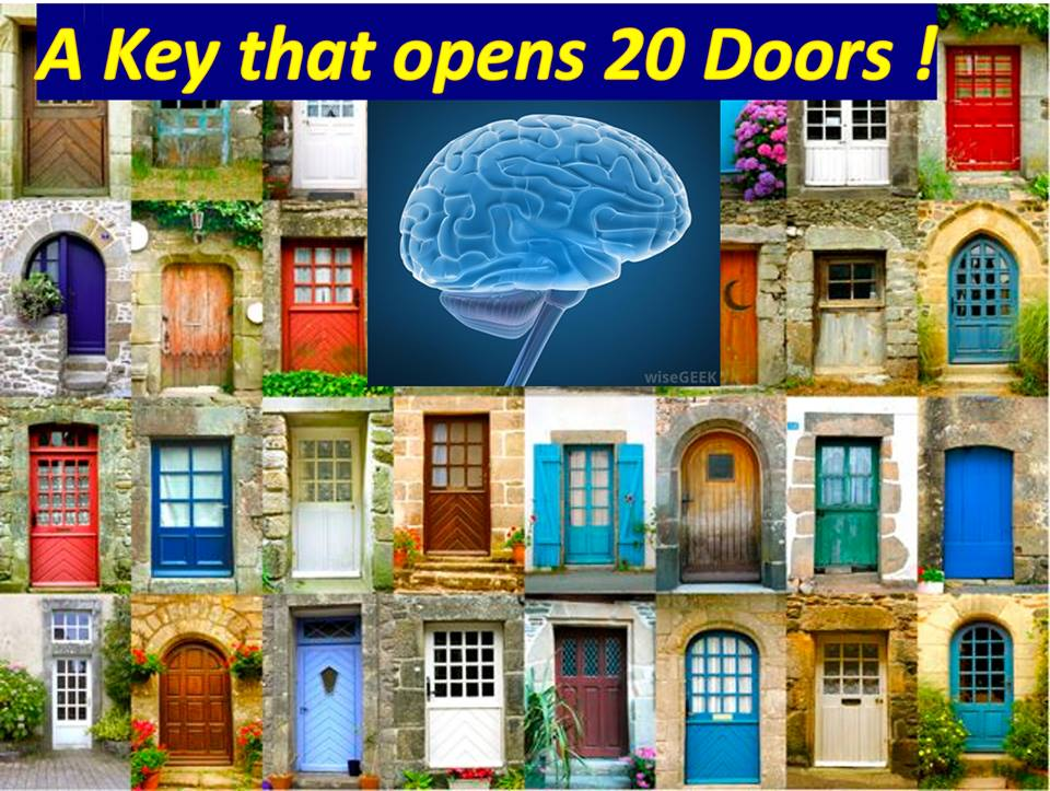 A Key that opens…20 Doors