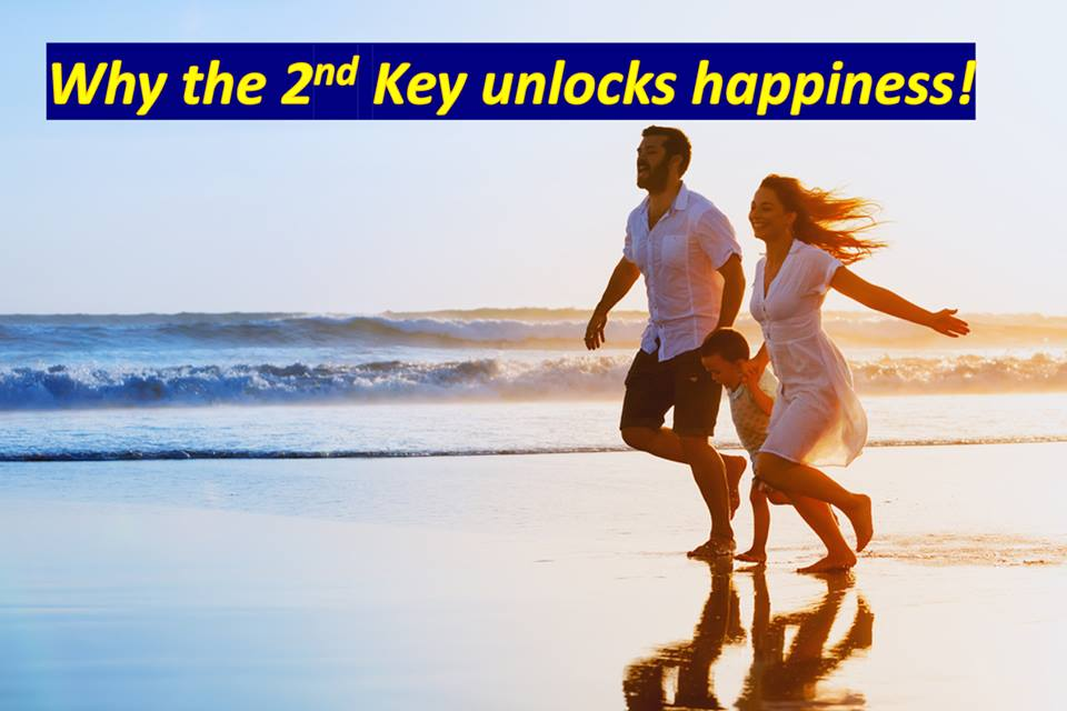 Why the 2nd Key unlocks Happiness