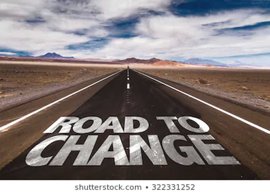 The two Roads to change