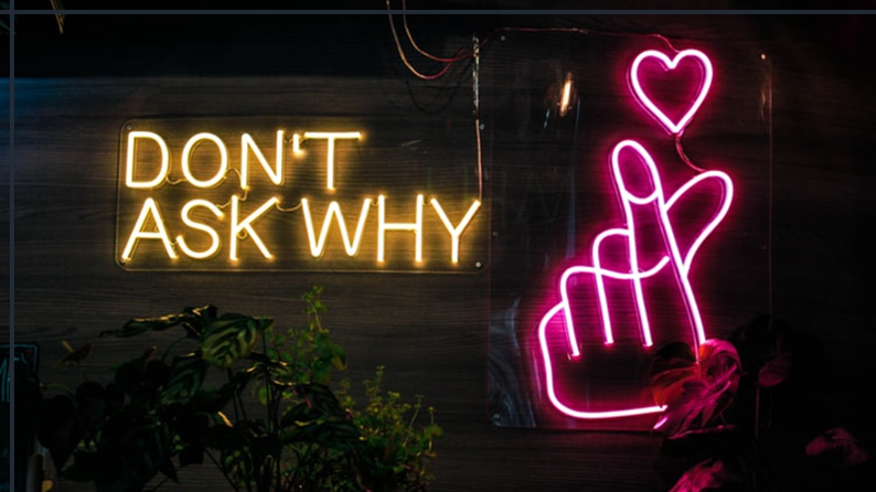 Why you should never ask 'why?'
